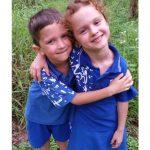 Twins starting school