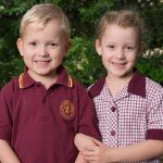 Claire and Owen school photo