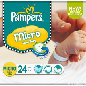 Pampers Micro Size Premmie Nappies