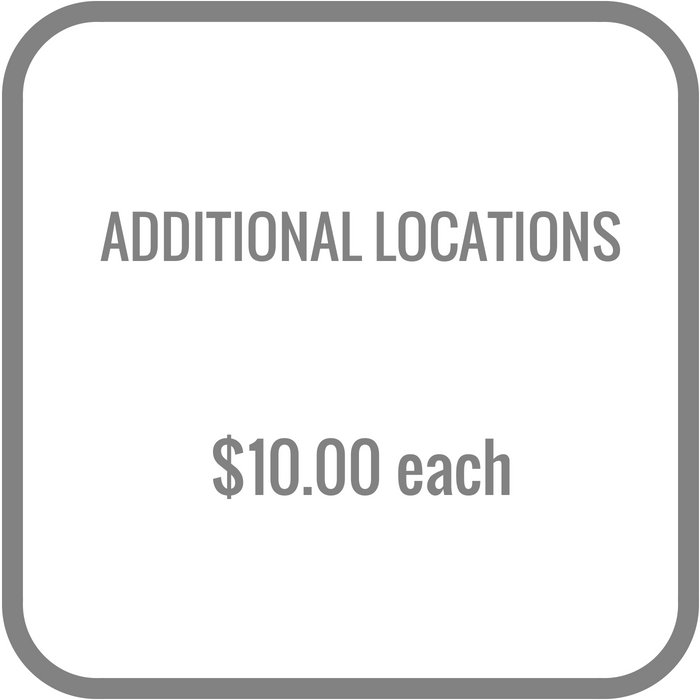 Additonal locations