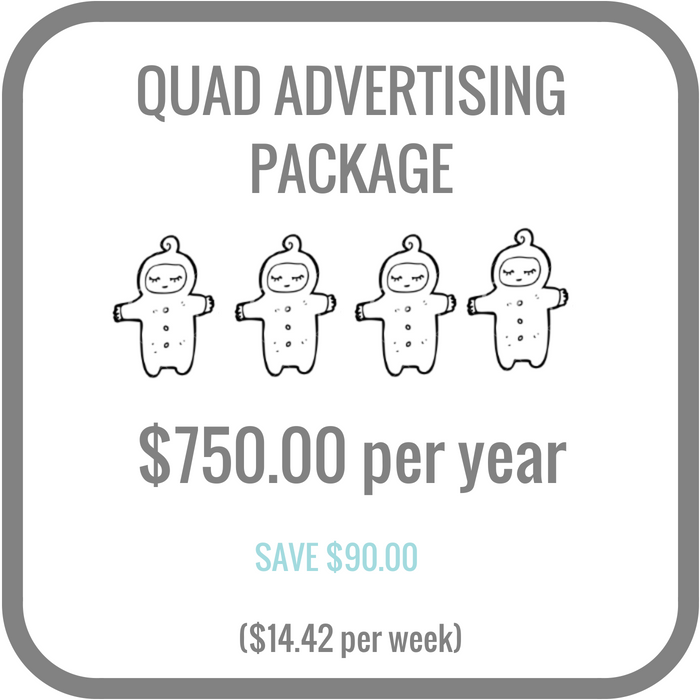 Quad annual package