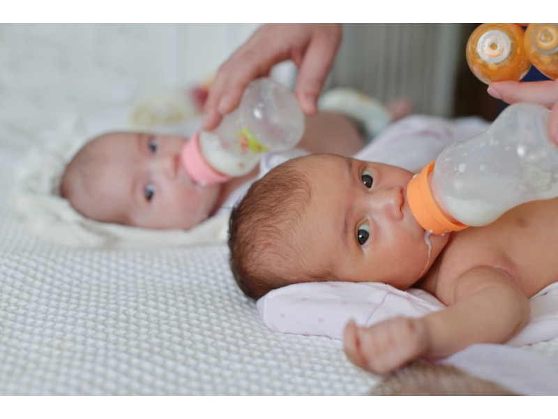 twins get enough sleep at daycare