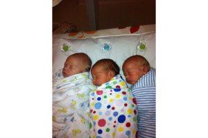 vaginal triplet birth