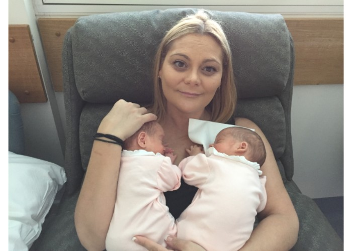 Twins born at 32 weeks + 5