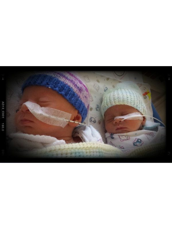 Placenta issues twins