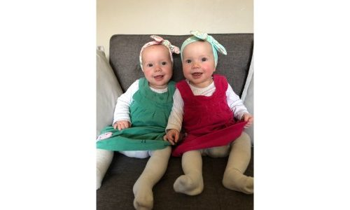 Twins born at 34 weeks