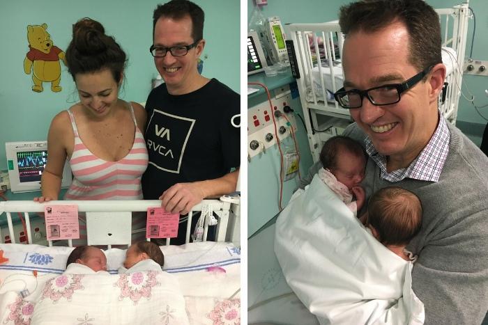 32 weeks pregnant MCDA twins