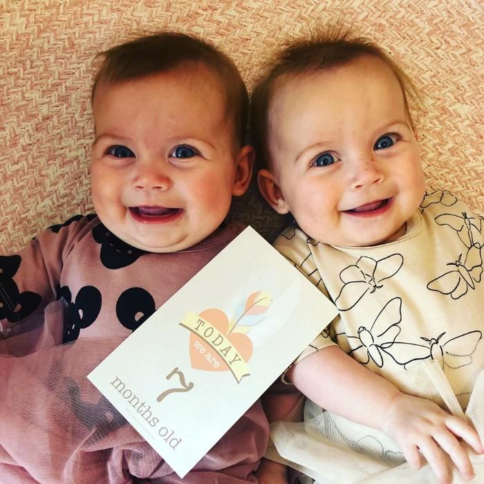 Uterus didelphys twins