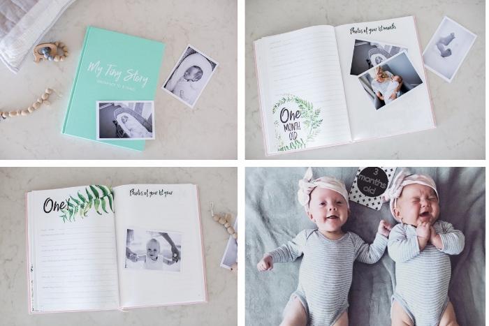 twin baby journals