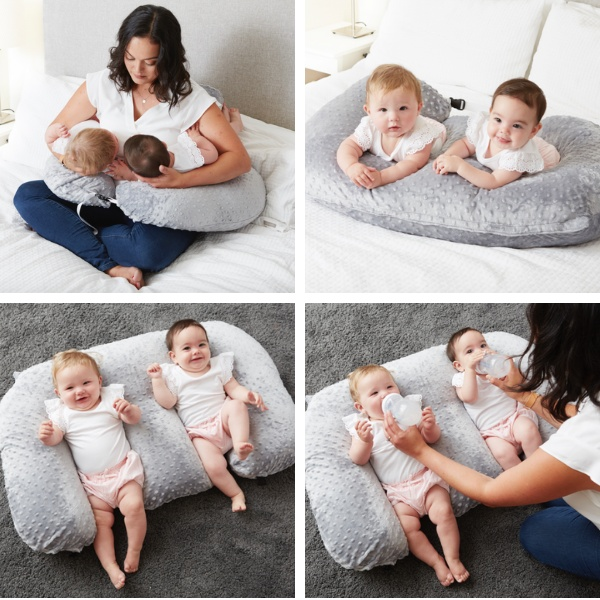 twin feeding pillow