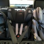 twins and car seats