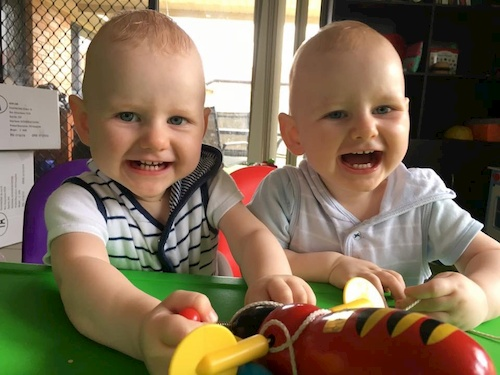 diagnosed with PND with twins