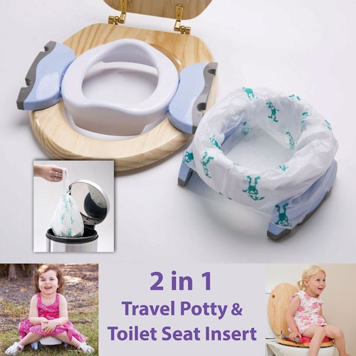 how to toilet train triplets
