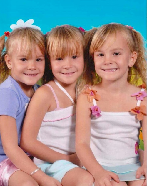 raising identical triplet girls