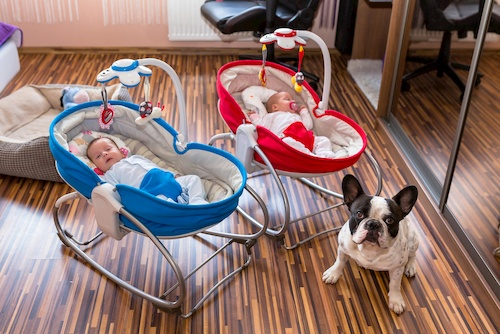 electric swings for twins and triplets