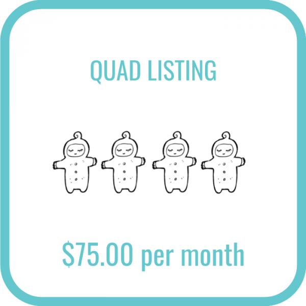 Twinfo Quad Listing
