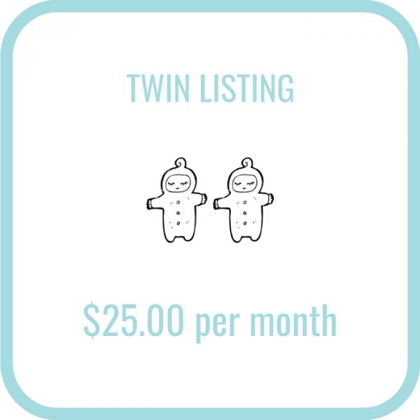 Twinfo Twin Listing