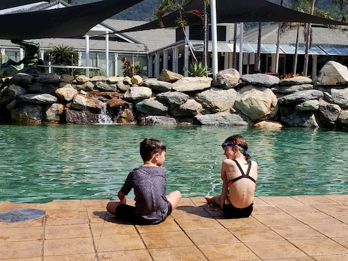 Palm Cove with twins