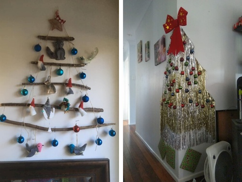 Alternatives to a Christmas tree when you have toddlers