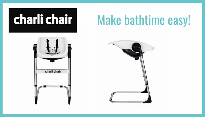 Charli Chair | Make bathtime easy