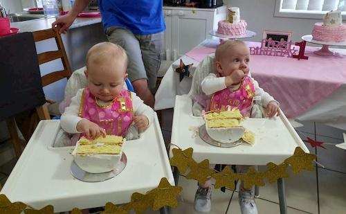 CHD in twins