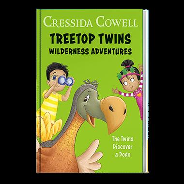 The twins discover a dodo