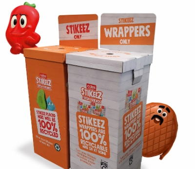coles stickeez recycle