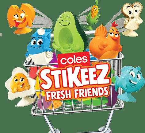 stikeez-characters