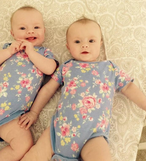adjusting to having twins