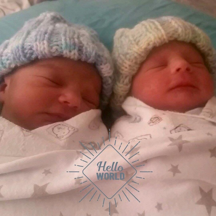 drug free twin birth story