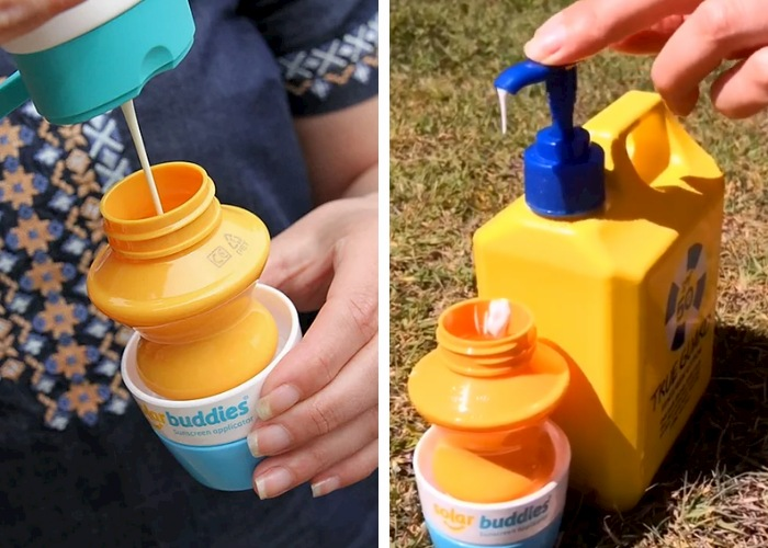 how to apply sunscreen to toddlers