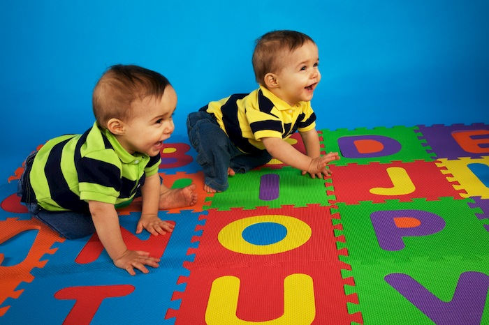 indoor activities for twins and triplets