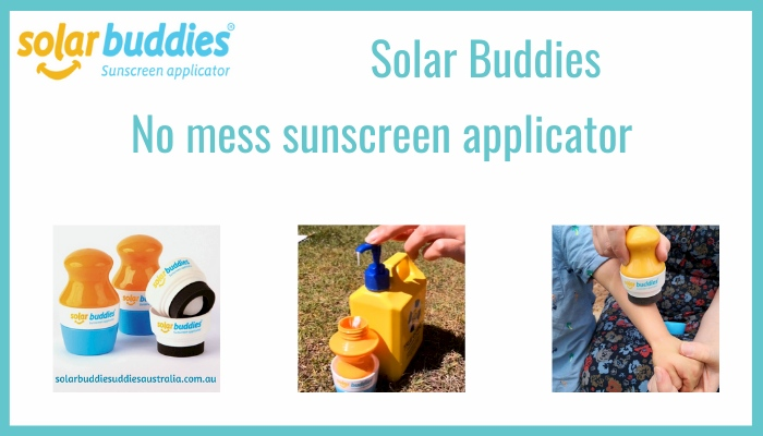 Mess Free Sunscreen Applicator