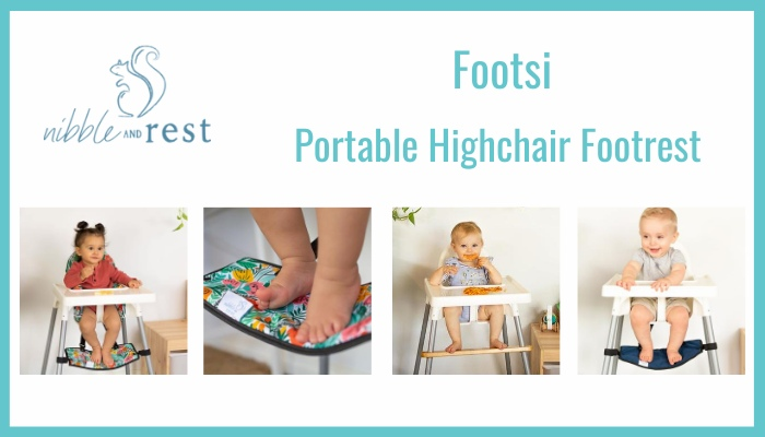 Portable Highchair Footrest