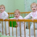 dressing triplets in matching clothes