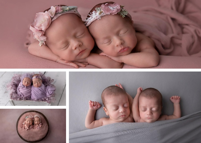 newborn photographer twins sydney