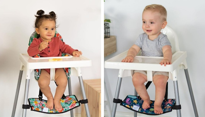 portable footrest for highchairs