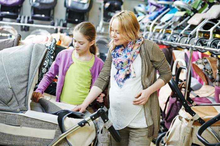 Choosing Inline double prams for twins