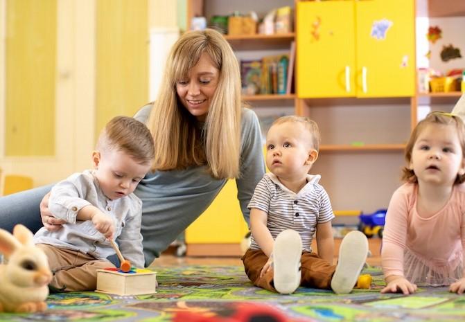nanny for triplets