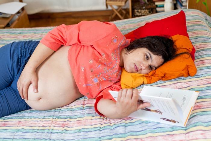 triplet pregnancy and bedrest