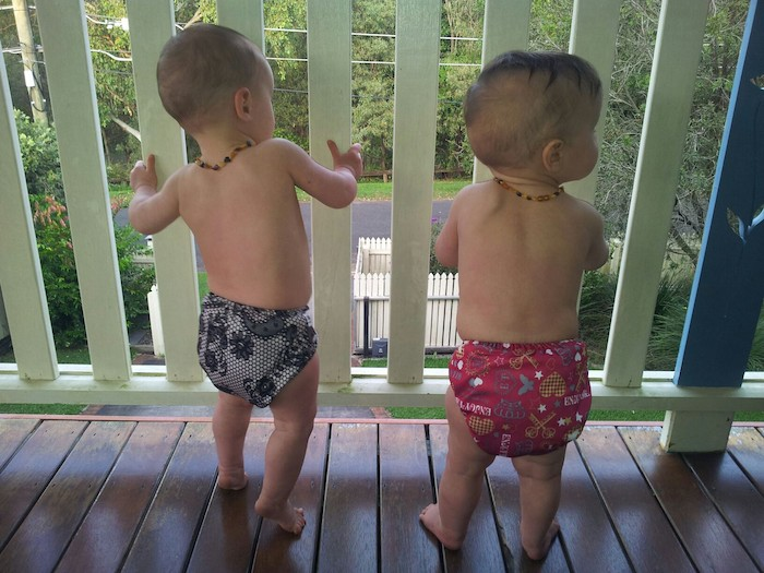 can you cloth nappy twins
