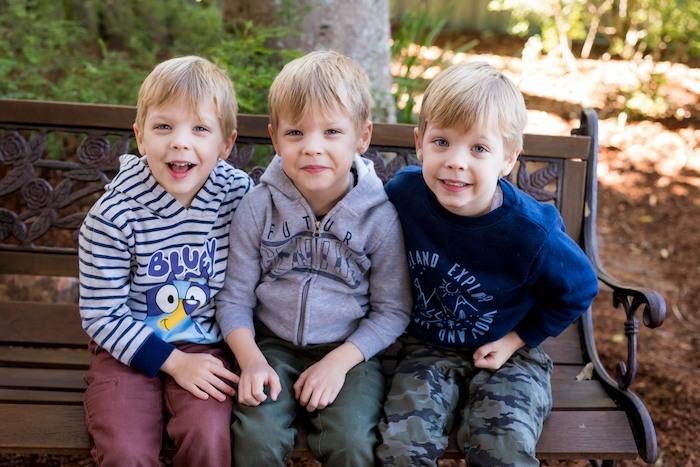 identical triplet boys born 27 weeks